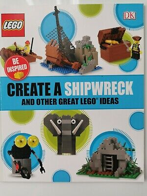 £3.99 • Buy Create A Shipwreck And Other Great LEGO Ideas By DK (Paperback 2017) Book