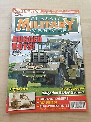 £8.99 • Buy Classic Military Vehicle Magazine Issue 83 April 2008 M1A1 Wrecker M7 Priest