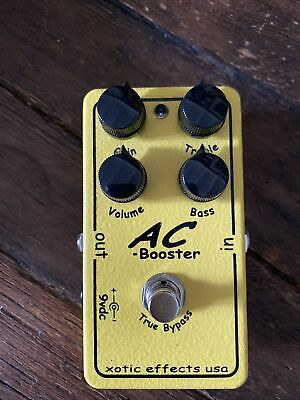 £100 • Buy Xotic AC Booster Overdrive Boost Pedal (mint)