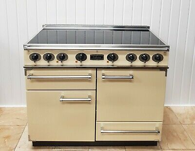 £1499 • Buy Falcon Deluxe  110 CM Range Cooker In Cream And Chrome