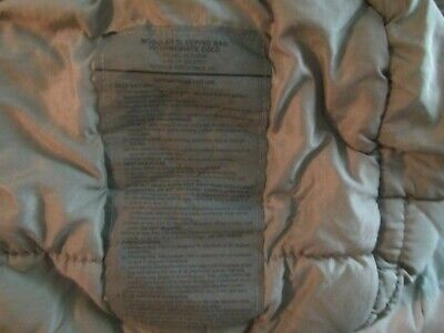 $128 • Buy Us Military Issue Extreme Cold Weather Green Mummy Sleeping Bag Used