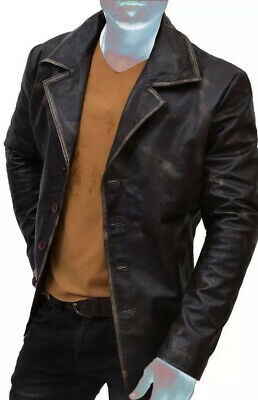 $149.95 • Buy NEW- Genuine Leather Dean Winchester Supernatural Distressed Leather Jacket Coat