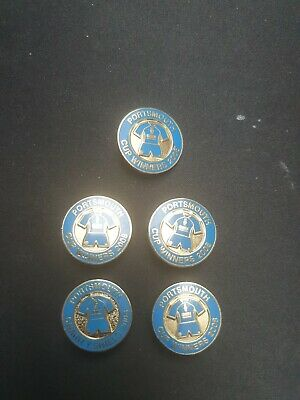 £5 • Buy Portsmouth FC Cup Winners 2008 Badge.