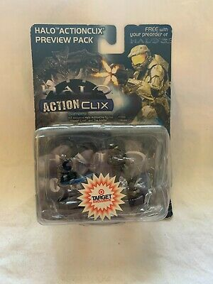 £7.27 • Buy Halo Action Figure 2007 Targe Exclusive Wiz Kids Rare Action Clix Toy