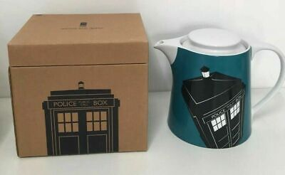 £23.99 • Buy Boxed Official Bbc Dr Who Tall Coffee Teapot Tardis Excellent Condition 2012 K87