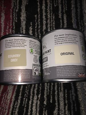 £22.99 • Buy Annie Sloan -  Country Grey & Original Chalk Paint- Project Tin- 120ml Each
