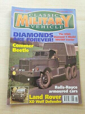£8.99 • Buy Classic Military Vehicle Magazine Issue 15 August 2002 Commer Beetle Land Rover