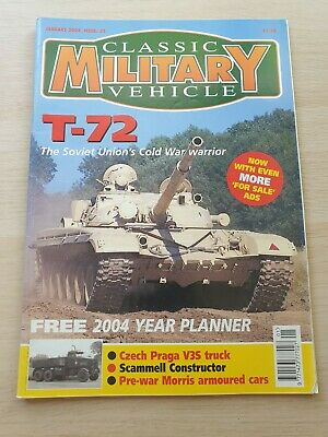 £8.99 • Buy Classic Military Vehicle Magazine Issue 32 January 2004 T-72 Scammell Construct