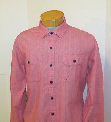 $19.55 • Buy BROOKS BROTHERS Button Down Shirt | Mens XL Red Fleece Soft Flannel