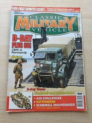 £8.99 • Buy Classic Military Vehicle Magazine Issue 99 August 2009 StuG III A30 Challenger