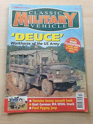 £8.99 • Buy Classic Military Vehicle Magazine Issue 43 December 2004 IFA W50L Pygmy Jeep