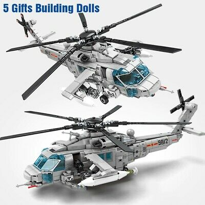 £40 • Buy Viper Helicopter Air Force Custom Army Modern Military Building Blocks Toys Kids
