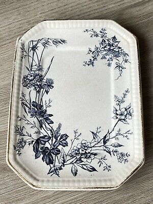 £3.99 • Buy Antique Burgess & Leigh Burleigh Ware Under Plate For A Vegetable Tureen