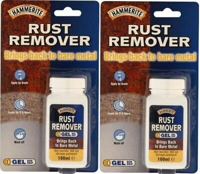 £8.99 • Buy Hammerite Rust Remover Gel Blister Anti Corrosion Protection 100ml X 2