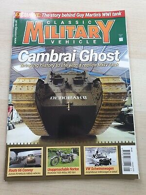 £8.99 • Buy Classic Military Vehicle Magazine Issue 200 January 2018 Cambrai Ghost MkIV