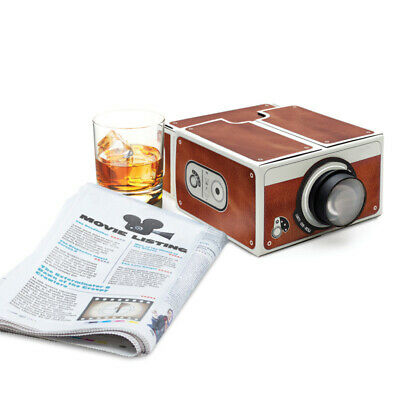 AU20.95 • Buy Mini Smart Phone Projector DIY Cardboard Theater Cinema Tool For Android IPhone