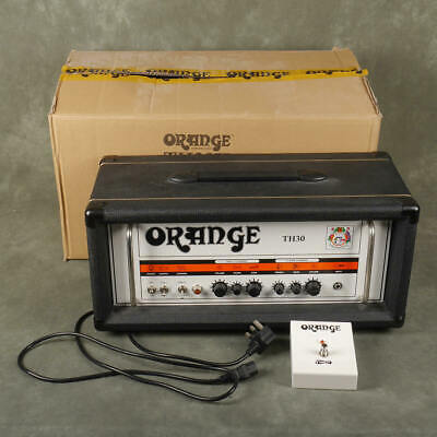 £494 • Buy Orange TH30 Amp Head & Footswitch W/Box & PSU - 2nd Hand **COLLECTION ONLY**