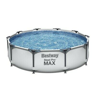 £170 • Buy 💦 Bestway Steel Pro Max 10Ft X 30In Frame Pool, Pump And Filter 🔥 BRAND NEW