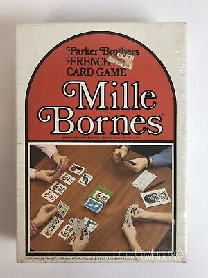 $29.99 • Buy Rare Vintage/sealed Mille Bornes Parker Brothers French Card Game 1971 Issue