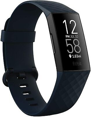 AU155 • Buy BRAND NEW - Fitbit Charge 4 Fitness Activity Tracker - BLUE