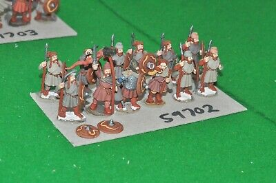 £60 • Buy 28mm Dark Ages / Saxon - Warriors 12 Figs - Inf (59702)