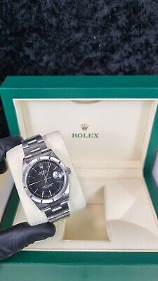 $ CDN6491.65 • Buy Rolex Oyster Perpetual Date 34mm Stainless Steel With Original Rolex Papers