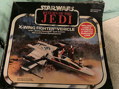 $ CDN138.49 • Buy Vintage Star Wars Return Of The Jedi X-Wing Fighter Vehicle Model Toy Boxed 1983