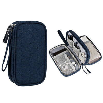 AU13.89 • Buy Electronic Accessories Cable Bag Organizer Travel Pouch Storage Cases Charger