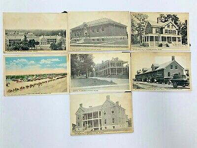$9.99 • Buy Vintage Lot 7 Postcards FT. BENJAMIN HARRISON, INDIANA Early 1900s UNPOSTED
