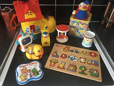 £30 • Buy Bundle Of Vintage Toys Matchbox Boot Tomy Mothercare Tin Jack In The Box