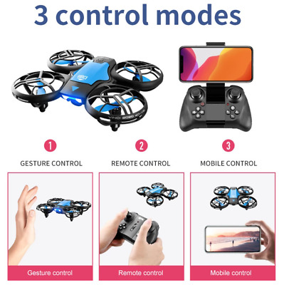 AU54.30 • Buy RC Drone Mini Small Light Altitude Hold 2.4Ghz Quadcopter For Kids Blue