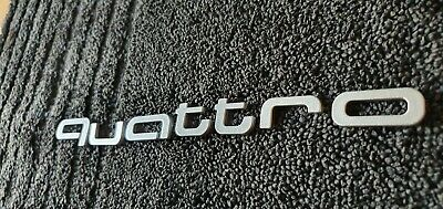 £19.99 • Buy Audi Badge Emblem Decal Sticker Logo Quattro Audi Boot Lid Or Front Grill