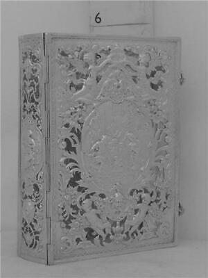 £252.36 • Buy 225 Sterling Silver Hanau Marks +english Import Marks For 1893 Prayer Book Cover