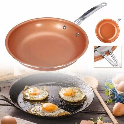 $28.89 • Buy Non-Stick Copper Frying Pan With Ceramic Coating Easy Clean,Durable Cooking Too