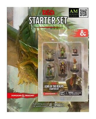 AU62.39 • Buy Dungeons & Dragons - Icons Of The Realms - Starter Set - New / Orig. Packaging