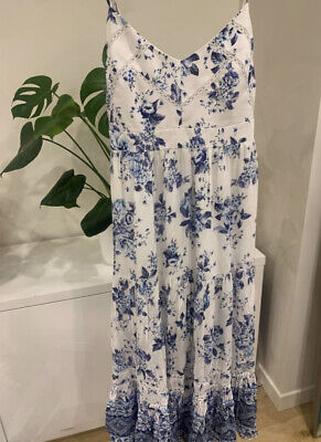 AU55 • Buy Forever New Petite Dress Floral Print Size 8