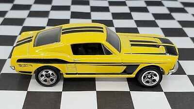 AU1.36 • Buy 1967 Ford Mustang - 2014 Hot Wheels 50 Years Of Mustang Set - Yellow