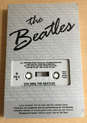 £3.50 • Buy Pocket Songs - 'you Sing The Beatles' - Performance Backing Tracks!