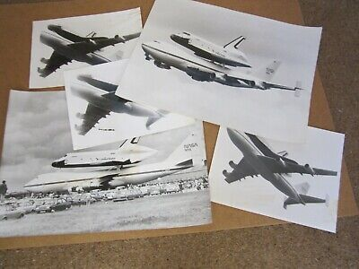 £10 • Buy Manchester Guardian Official Photographs Space Shuttle/747 Visit To UK