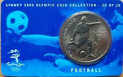 £5.99 • Buy Sydney 2000 Olympic Coin Collection: 20/28-Football-AU$5 Coin-Uncirculated