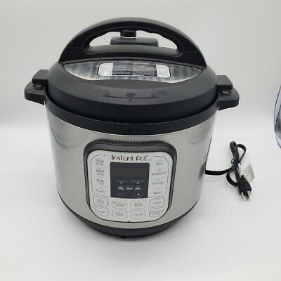 $89.23 • Buy Instant Pot Duo 7-in-1 Electric Pressure Cooker, 8 Quart, 14 One-Touch Programs