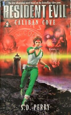 AU55 • Buy Resident Evil #2 Caliban Cove S.D. Perry 1998 Fantasy Horror Thriller Zombies PB