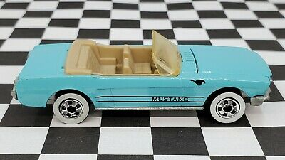 AU1.36 • Buy 1965 Ford Mustang Convertible - 1990 Hot Wheels Collector #26 - Light Blue