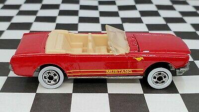 AU1.36 • Buy 1965 Ford Mustang Convertible - 1991 Hot Wheels Collector #162 - Red