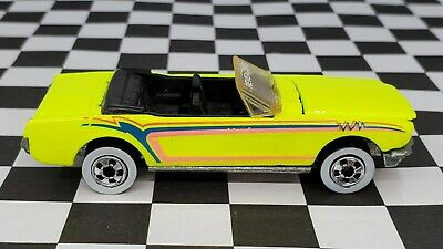 AU1.36 • Buy 1965 Ford Mustang Convertible - 1993 Hot Wheels Revealers - Yellow