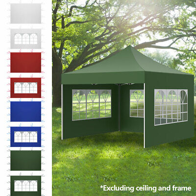 AU24.99 • Buy 3x3x2M Garden Outdoor Oxford Gazebo Marquee Party Tent Wedding Canopy Side Panel