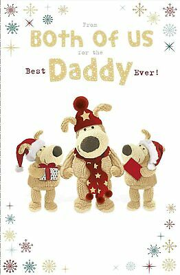 £3.99 • Buy Boofle Daddy From Both Of Us Foiled Christmas Card