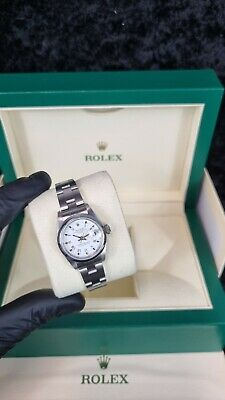 $ CDN6050.22 • Buy Ladies Rolex Datejust 26mm White Roman Dial With Original Rolex Papers