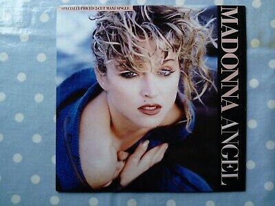 £9.99 • Buy Madonna Angel (Extended Dance Mix/Into The Groove) 2 Track Vinyl 12