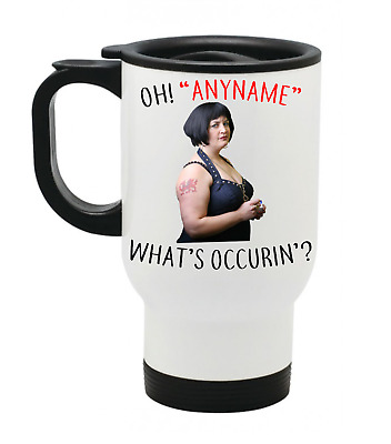 £14.99 • Buy Personalised Gavin And Stacey Travel Mug Whats Occurin Nessa Mum Mothers Thermal